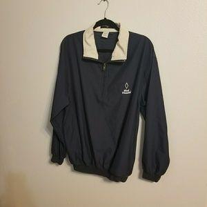 Bermuda Greens pullover golf jacket Sz M (H0264)